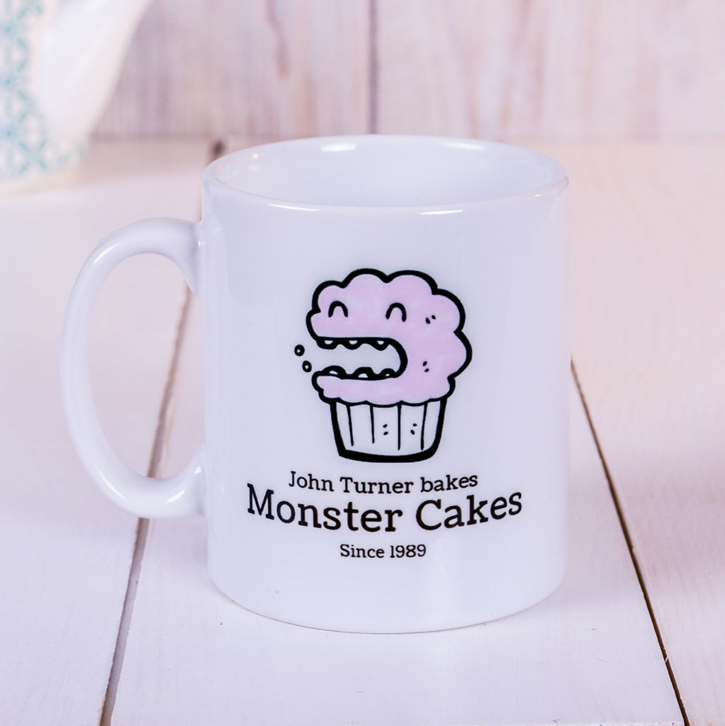Bakes Monster Cakes mug - ideal gift for foodies