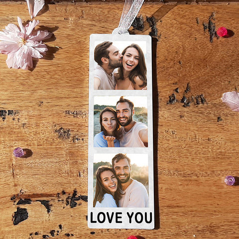 HANGING PHOTO TOKEN  - LOVE YOU