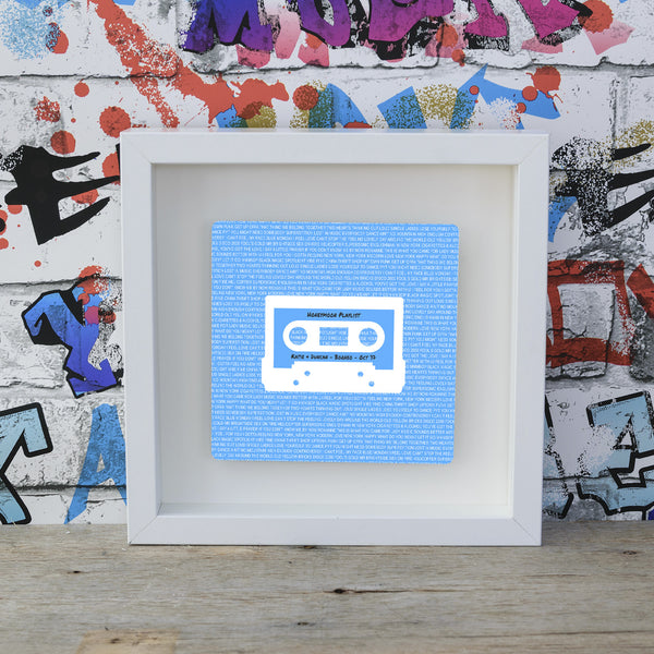 Mixtape / Playlist Box Frame