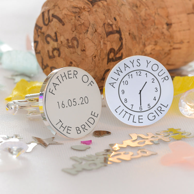 Always Your Little Girl Time Cufflinks