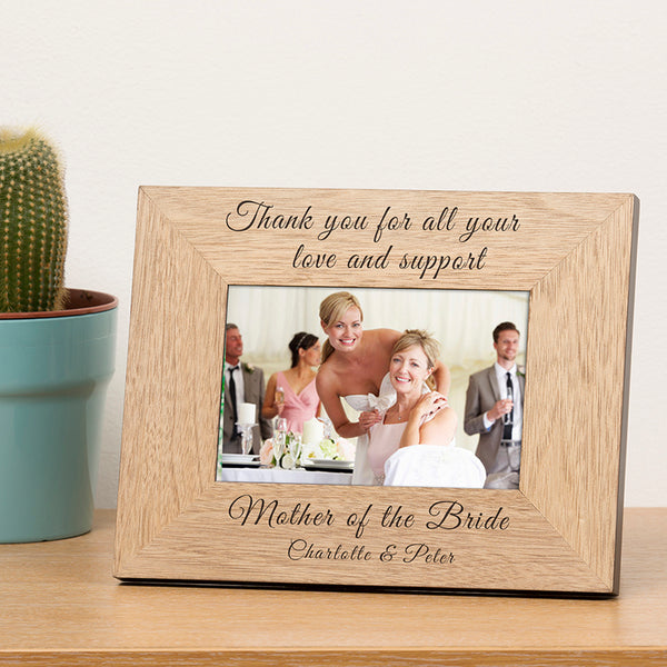 Wedding Thank You Photo Frame