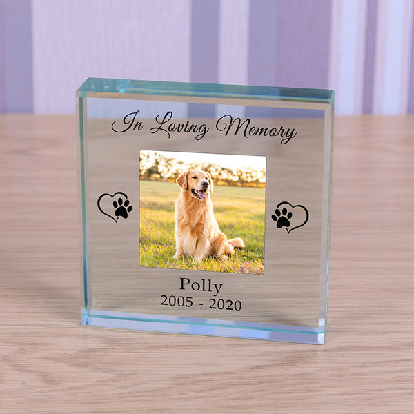 Glass Token - In Loving Memory