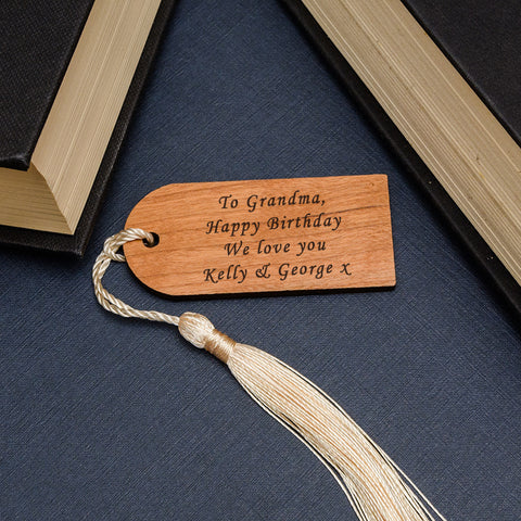 Personalised Arch Wooden Bookmark