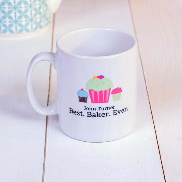 Best. Baker. Ever Mug - Foodie gift