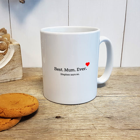 Best. Mum. Ever. Mug