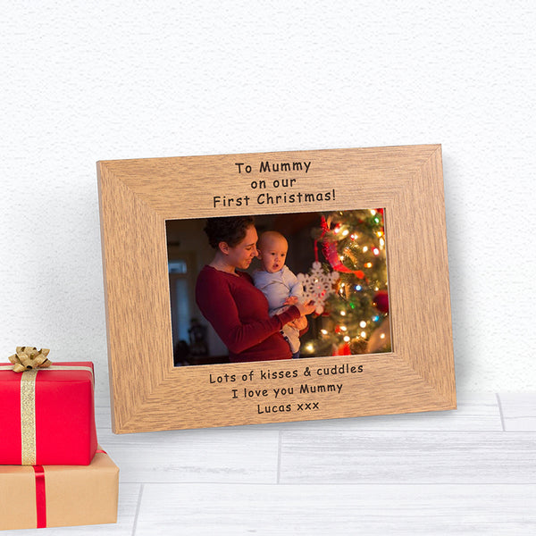 Our First Christmas Mummy Photo Frame