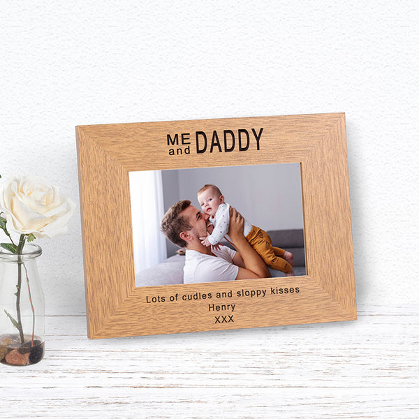 Me and Daddy Photo Frame