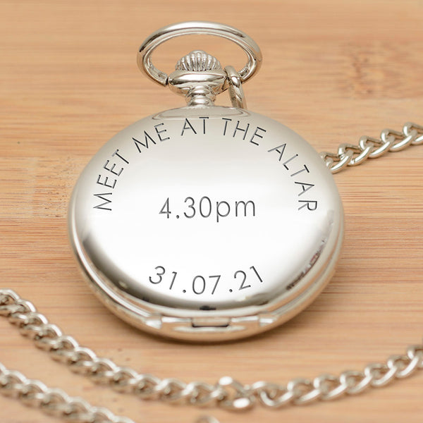 Meet me at the Altar Pocket Watch
