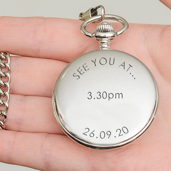 See you at..Pocket Watch