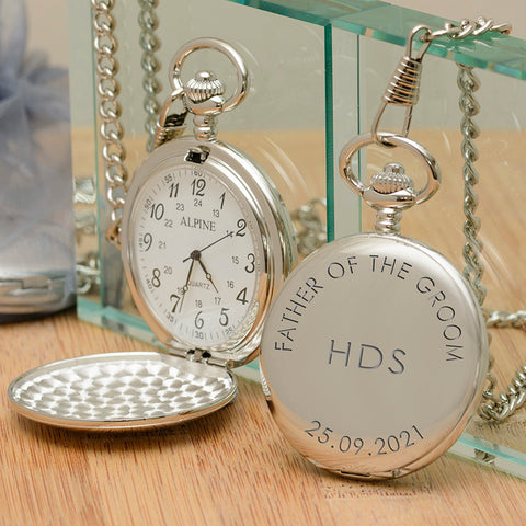 Wedding Party Role Pocket Watch