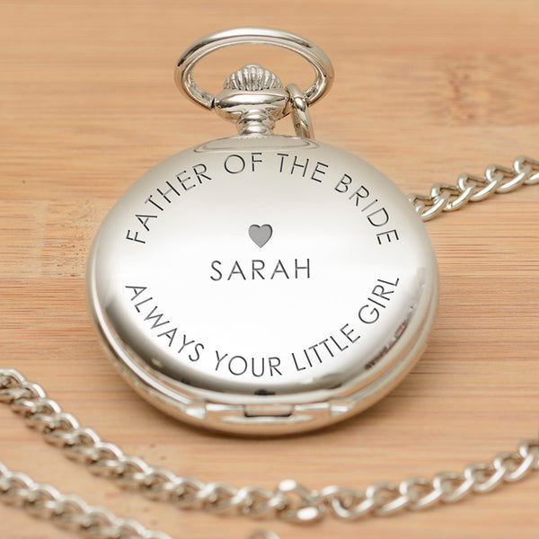 Always Your Little Girl Pocket Watch