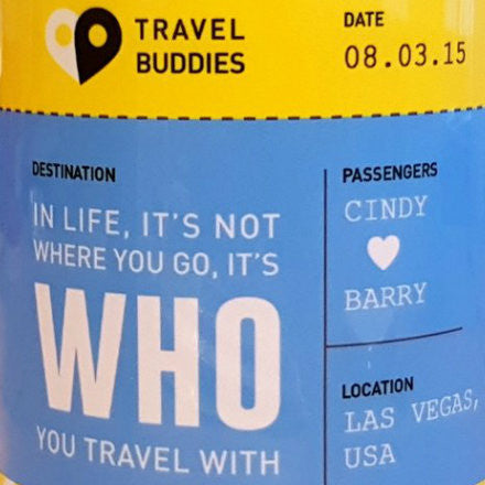 Boarding Pass Travel Themed Personalised Mug