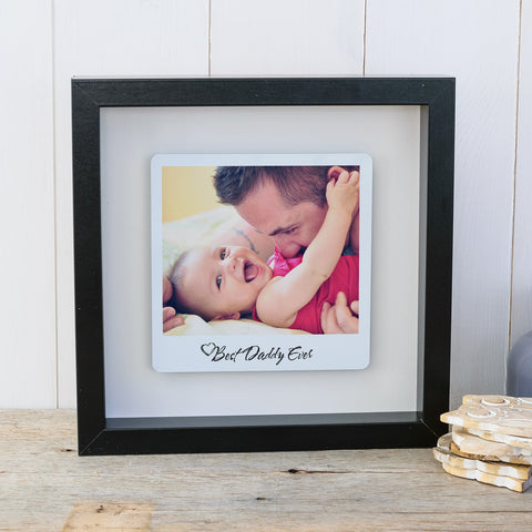 Best Daddy Ever Box Frame