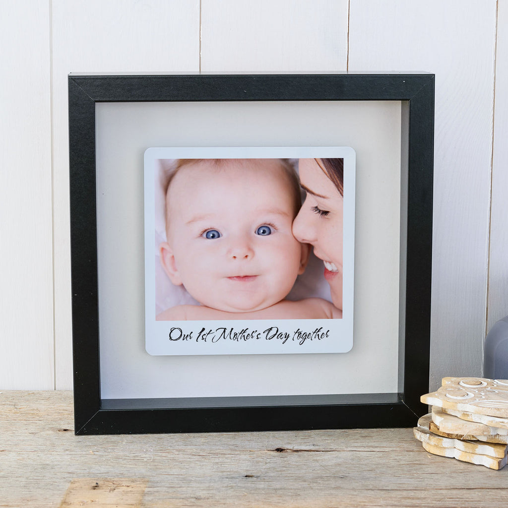 1st Mother's Day Together Box Frame