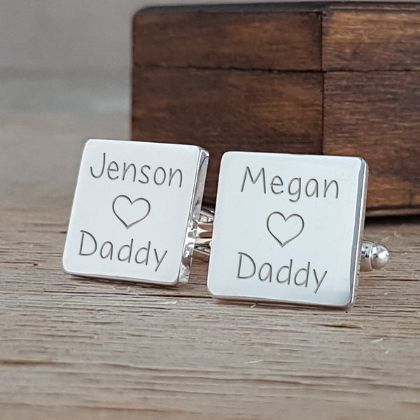 Loves Daddy Cufflinks