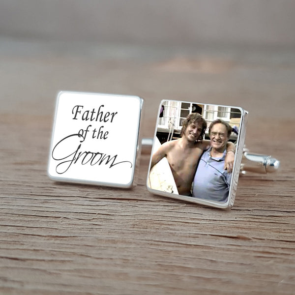 Father of the Bride / Groom Wedding Cufflinks