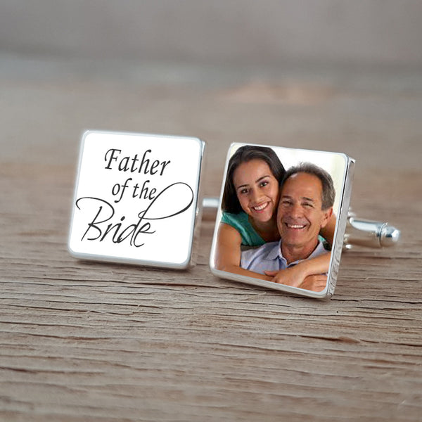 Father of the Bride & Groom Wedding Cufflinks Set