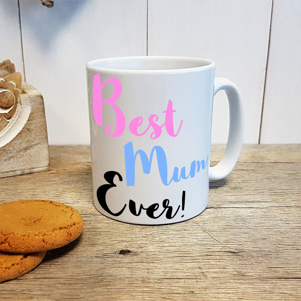 "Best Mum Ever! ""Paint"" Personalised Mug"