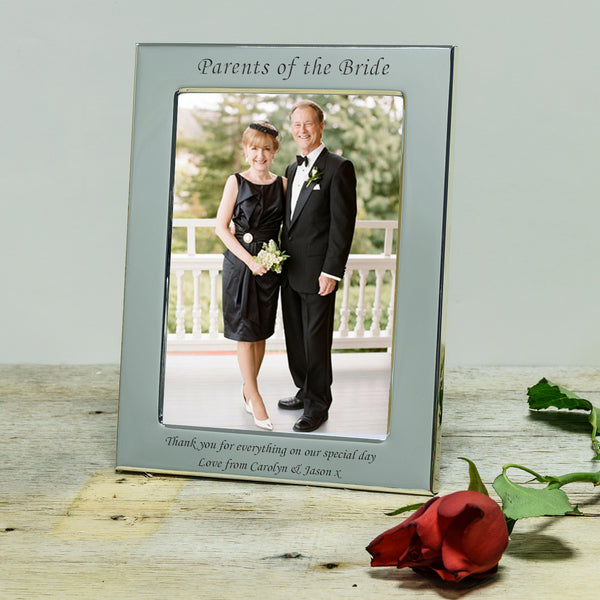 Parents of Bride / Groom Silver Frame