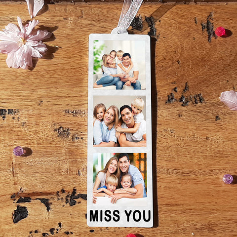 HANGING PHOTO TOKEN  - MISS YOU