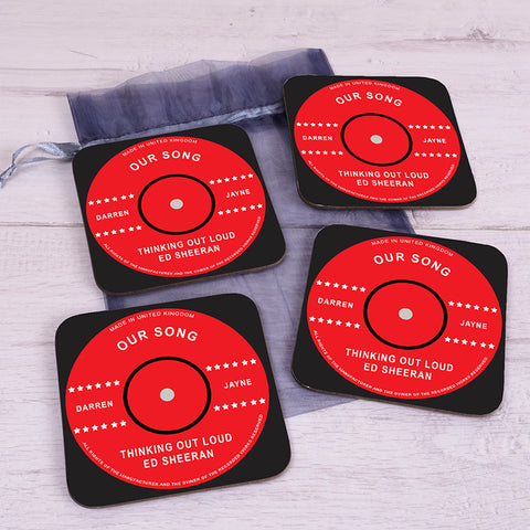 Our Song Coaster Set