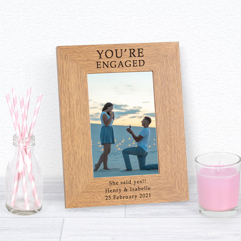 You're Engaged Photo Frame
