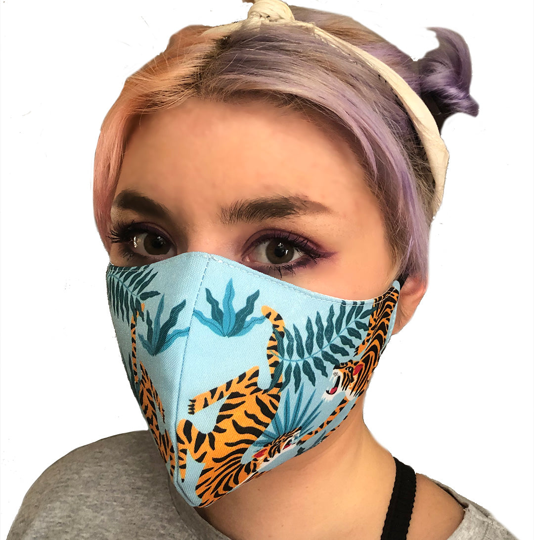 MASK TIGER DANCE 3PLY