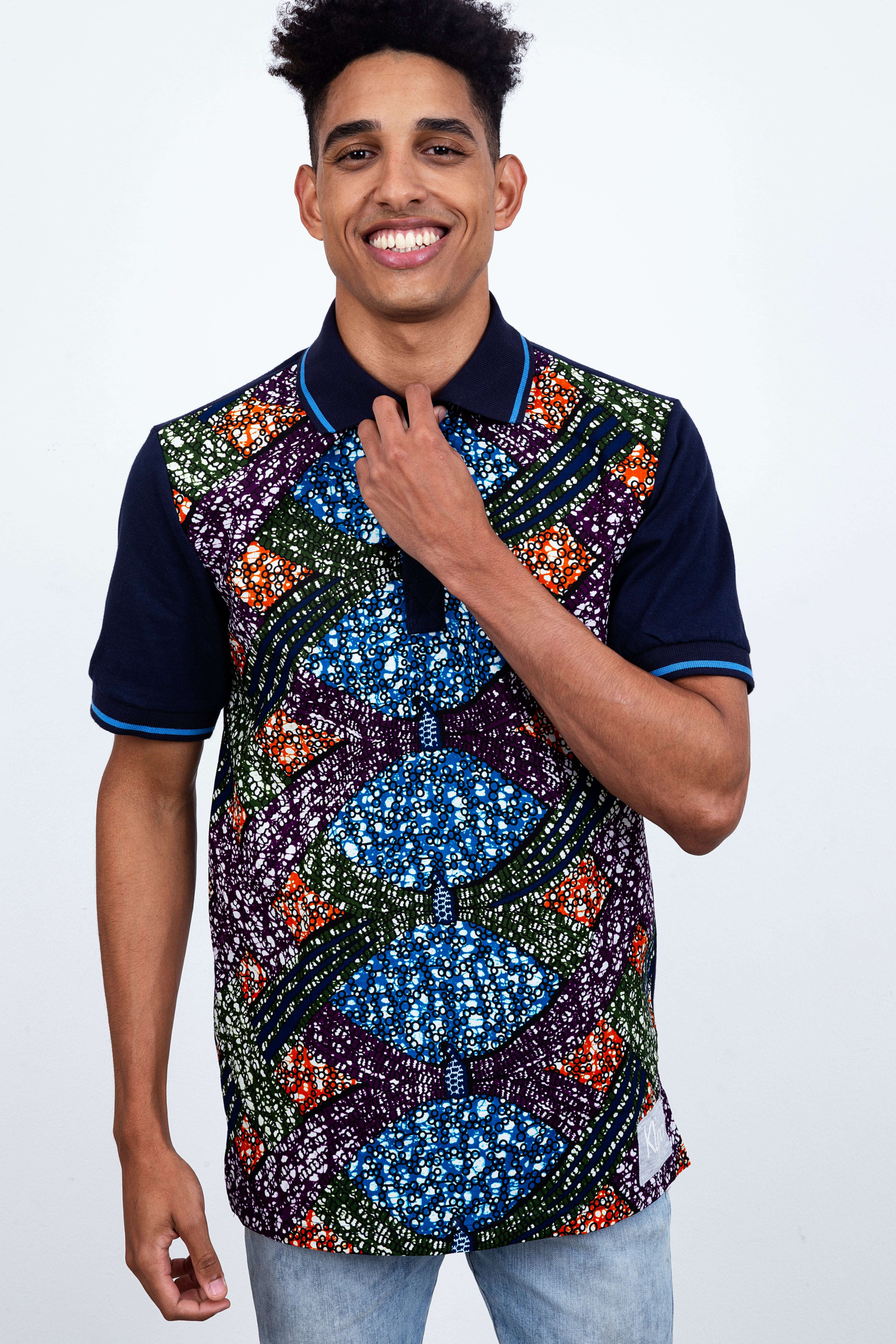 THE SHORT SLEEVE POLO AFRICAN
