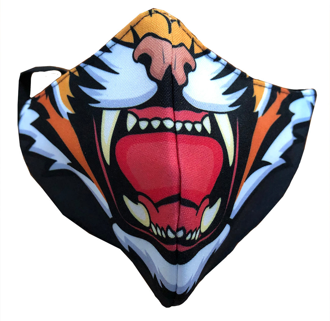 Mask - 3 -Ply Tiger Print - Each