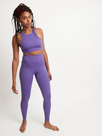 Lucky Purple Classic Hi-Rise Legging - 100% Recycled