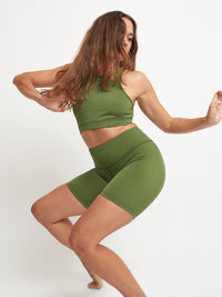 Spinach Mini Legging - 100% Recycled