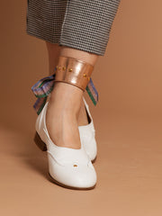Metallic Ankle Cuff - Copper - Licia Florio