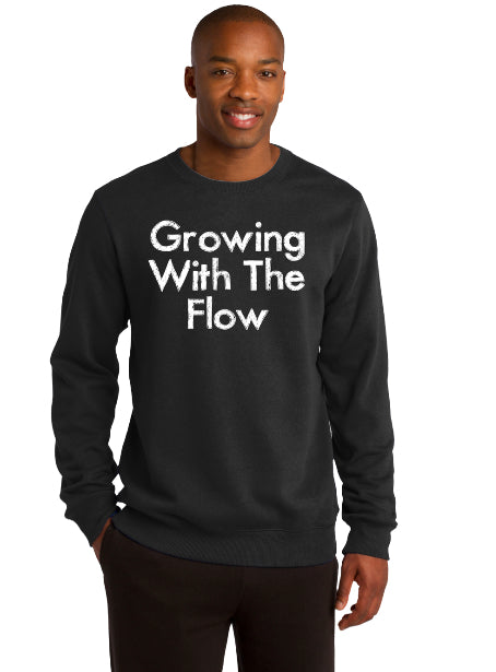 Growing With The Flow UNISEX Sweatshirt