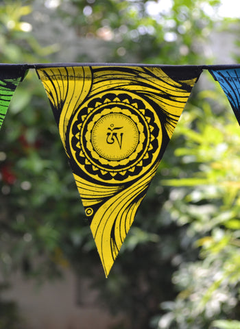 OM - Triangle Hanging Flags