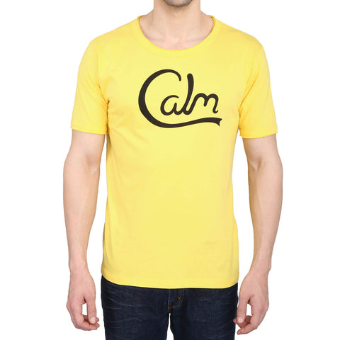 Calm Yellow Comfort Fit Tee