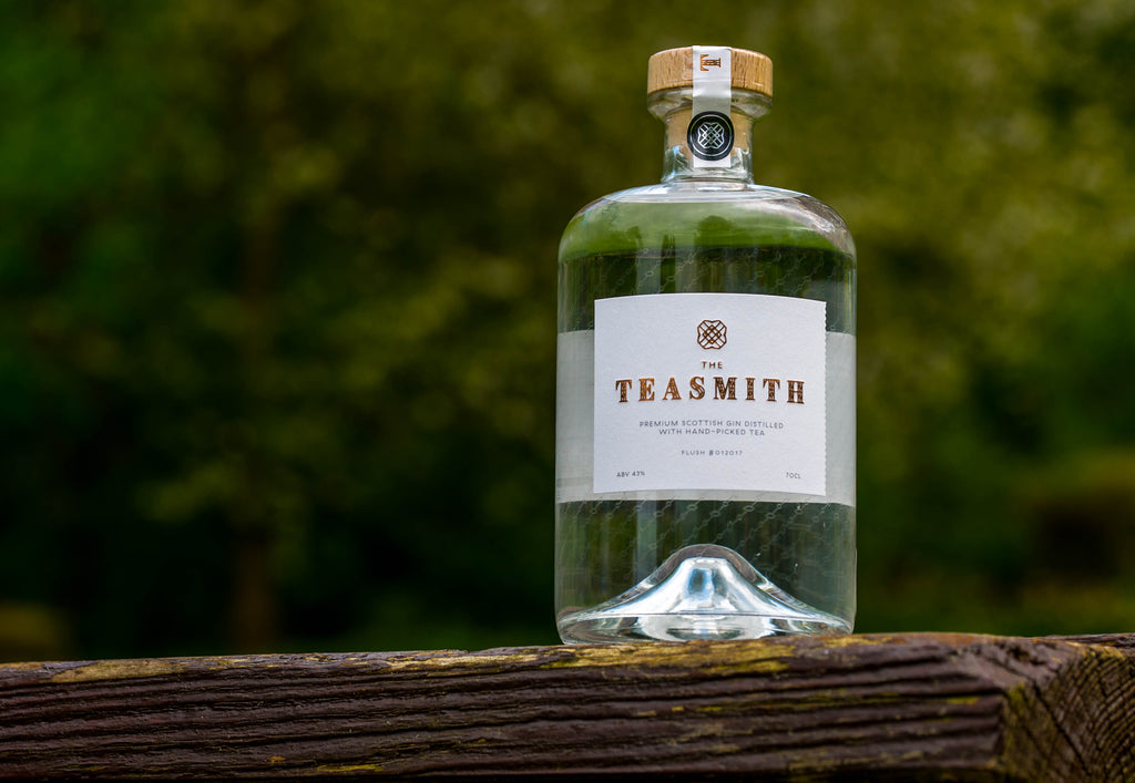 The Teasmith Gin, Best Scottish Premium Gin with hand-picked tea
