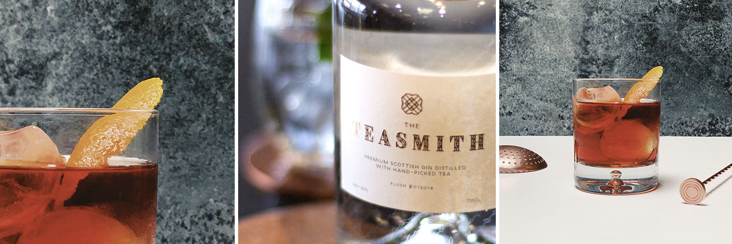Negroni Cocktail featuring Teasmith Gin