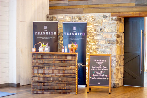 Teasmith Gin wedding bar
