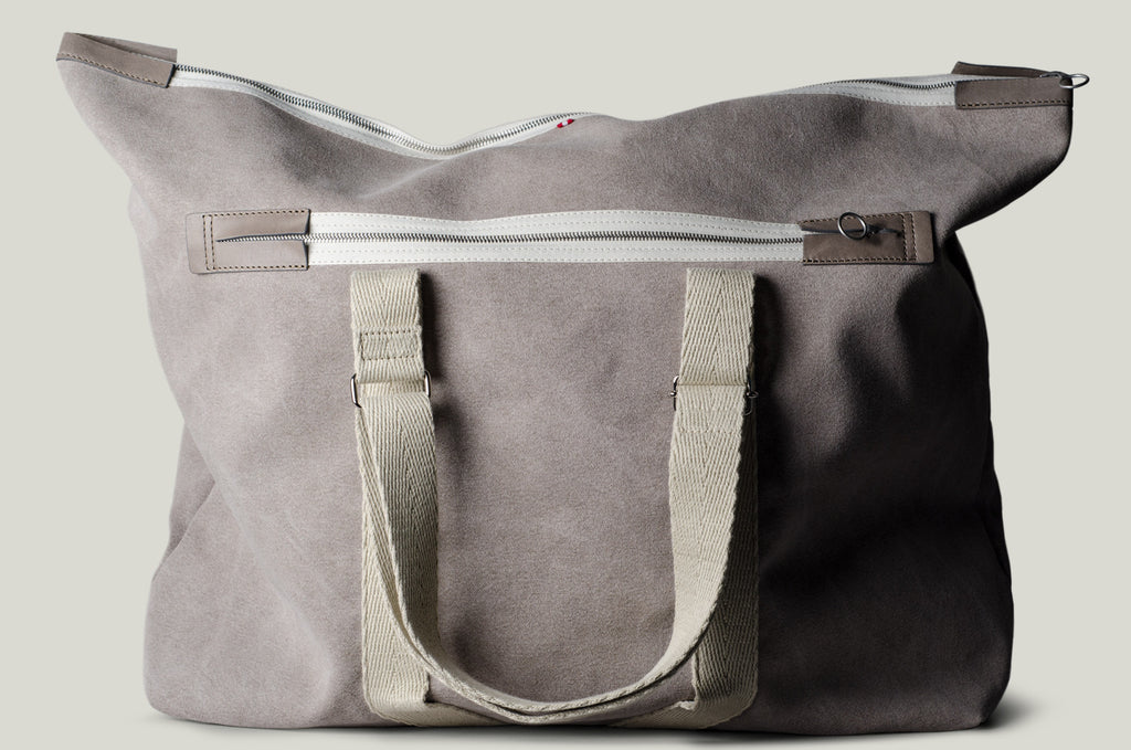 Party Holdall Bag . Off Grey