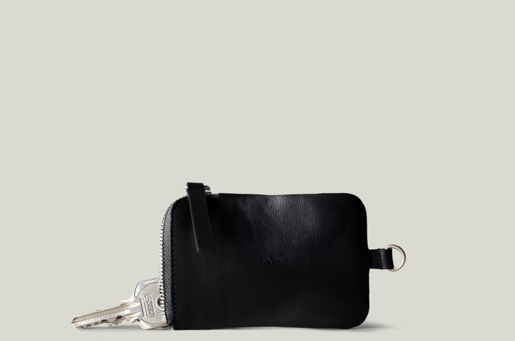 Zip Key . Black Stone