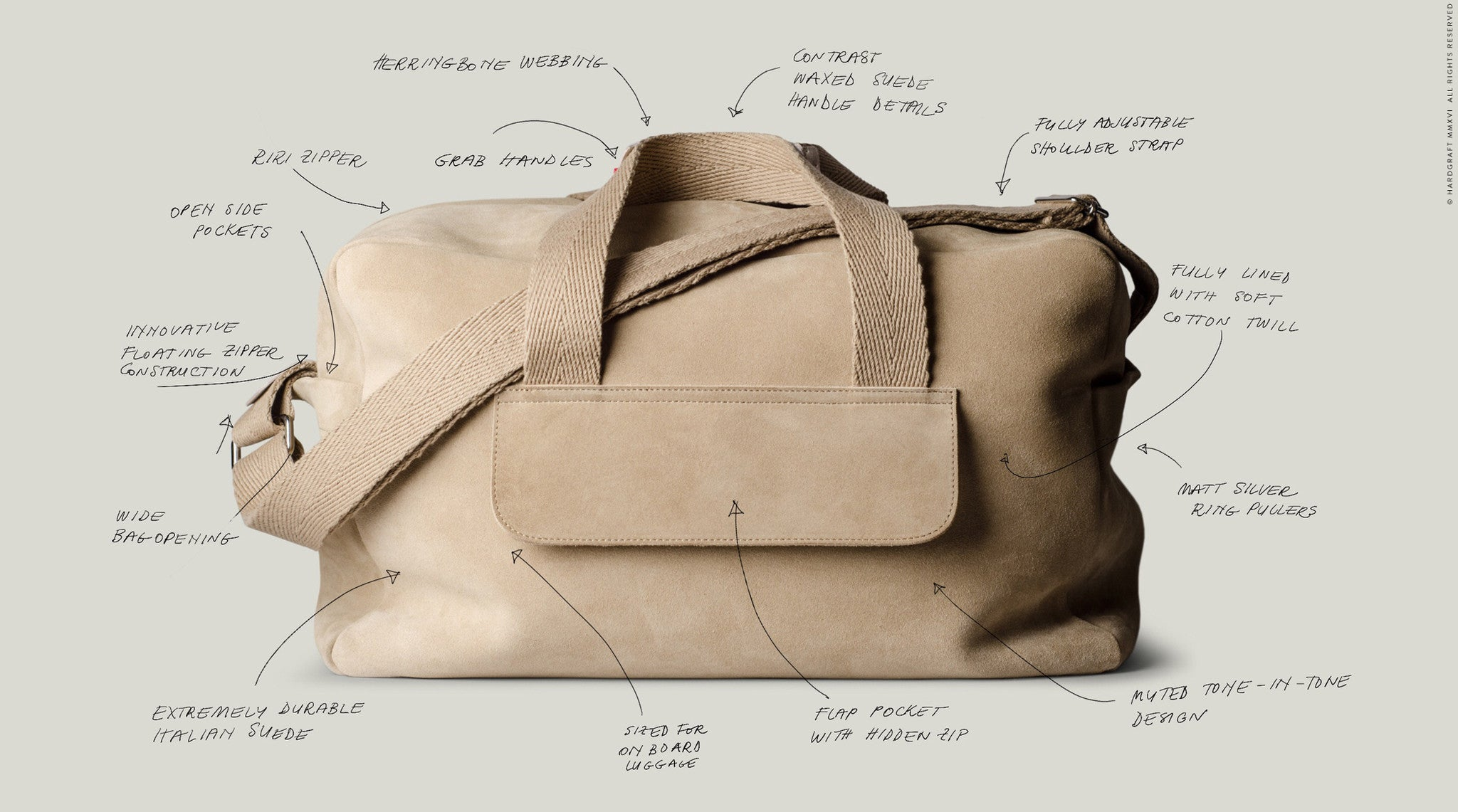Holdall . Volume One