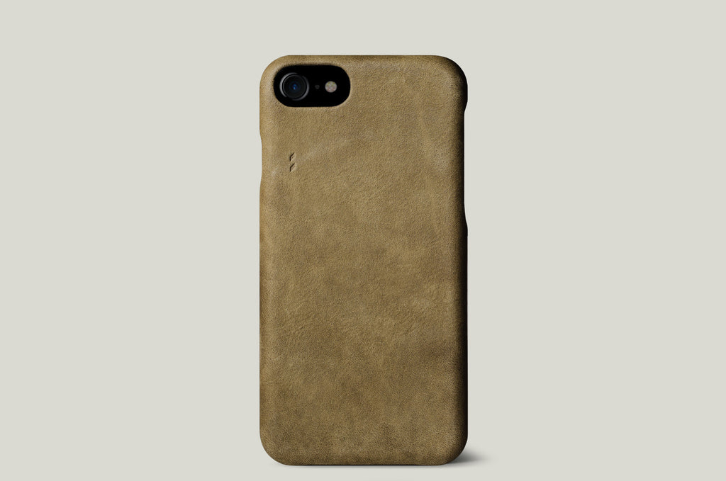 Dusty iPhone 7 Cover . Olive
