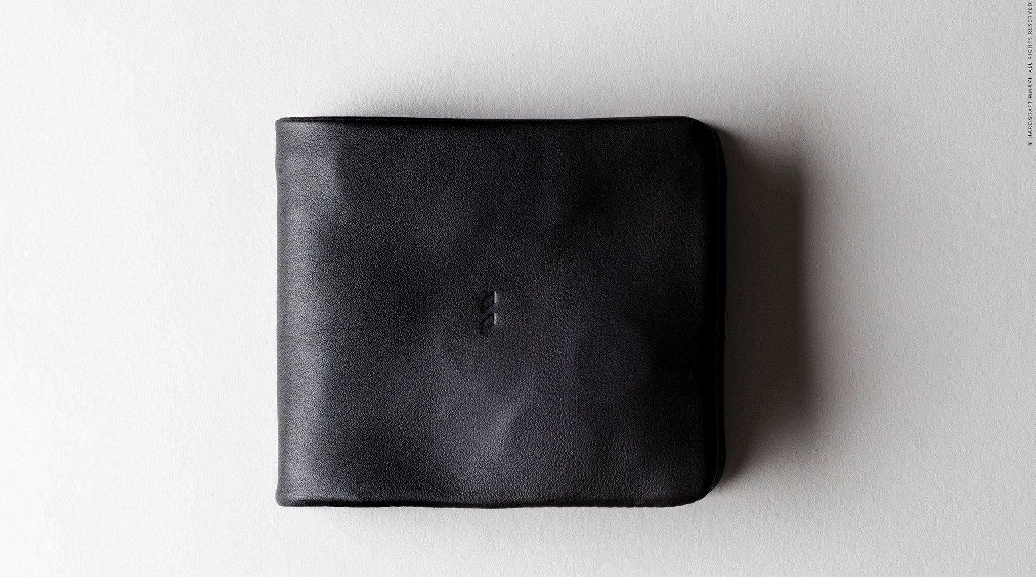 Zip Bifold . Black Stone
