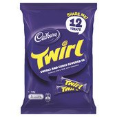 Cadbury Twirl Sharepack - 12 Treats