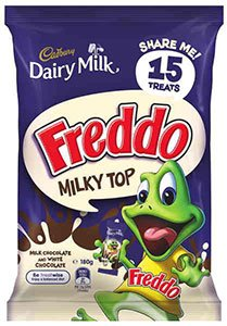 Cadbury Freddo Frog Milky Top Share Pack 180g 15 pcs