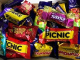 Cherry Ripe, Crunchie, Caramello Koala, Freddo, Cadbury Dairy Milk, Turkish Delight, Picnic, Flake - Pack 40 Assorted
