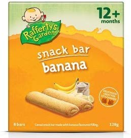 Rafferty's Garden Fruit Snack Bar Banana (12M+) 128g