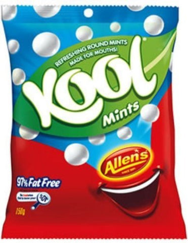 Allen's Kool Mints 150g (Made in Australia)
