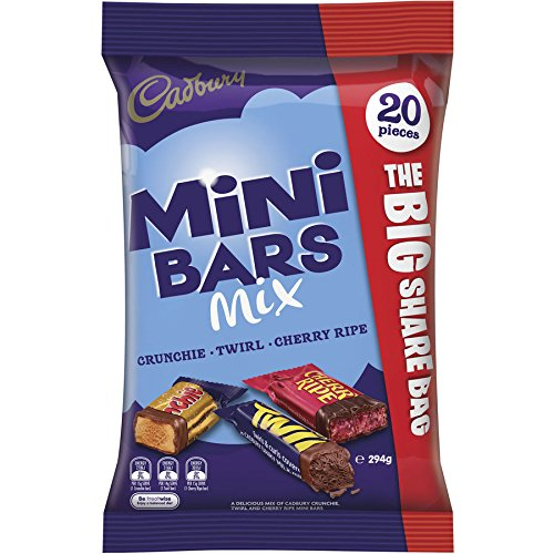 Cadbury Mini Bars Mix - 20 Pieces