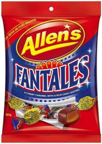 Allens Fantales Bag Chocolate 180g